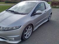 HONDA CIVIC 2.0 TYPE R GT FN2 EXCELLENT CONDITION LOW MILES MAY PX P/X PART EXCHANGE SWAP WHY?