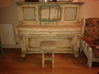 Beautiful shabby chic piano FOR FREE!!!!