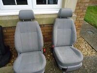 Volkswagen Caddy front seats