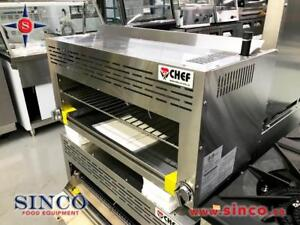 BRAND NEW SALAMANDER & CHEESE MELTER CHEF