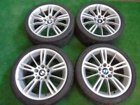 "BMW 3 SERIES MV3 STYLE 18"" ALLOY WHEELS"