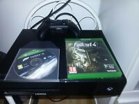 Xbox One 500GB Console with Fallout4 and Forza Motorsport 6