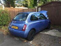 1.3 Nissan micra S 2003