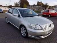 Toyota Avensis 2.0 D-4D T2 5dr 1 Year Mot, Perfect Car, 1595 Ono