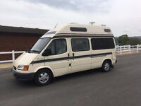 AUTOMATIC FORD DUETTO AUTOSLEEPER 2.5 DIESEL 67,000 MILES-NEW MOT AND HAB CHECK