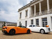 Wedding car hire | PROM Rolls Royce Hire | Rolls Royce Phantom Hire | Limo Hire | Lamborghini Hire