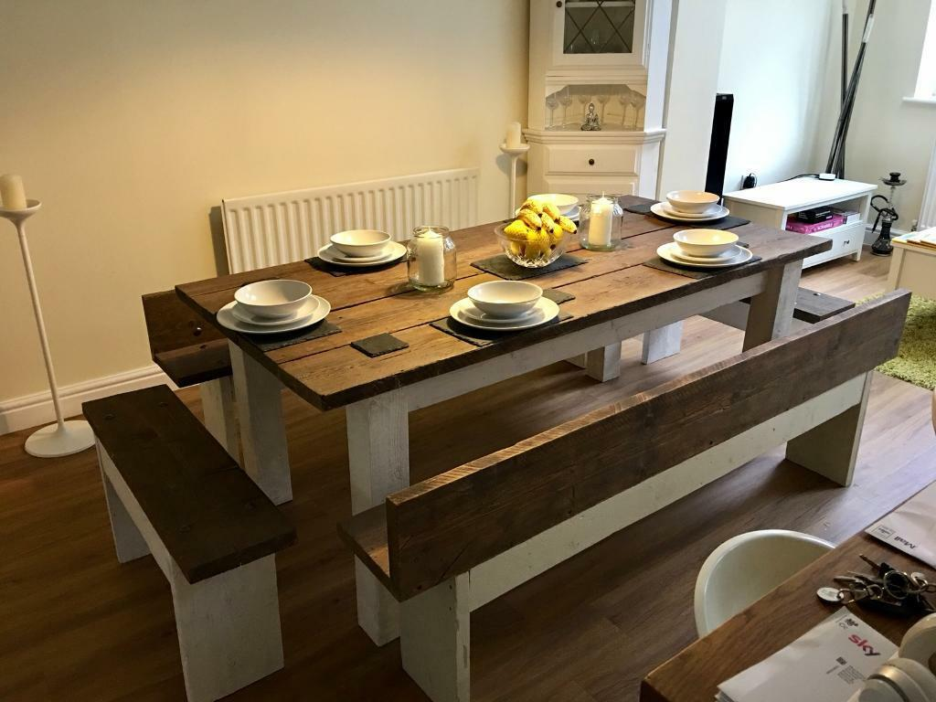 Bespoke dining room set - seats 6-8