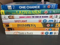 7 DVDs £4 for the lot