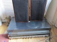 Vintage HIFI Marconiphone Music Center G Marconi model 4463 teak