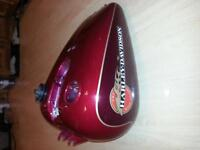 complete tin for Dyna Wide Glide