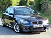 ★6 MONTHS WARRANTY★(2007) BMW 525D M SPORT AUTO - 5 SERIES - E60 - FULLY LOADED - SERVICE HISTORY