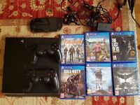 PS4 with PS Vita, plus 2 controllers and 6 amazing games. Must go ASAP