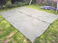 Heavy Duty Canvas Tarpaulin