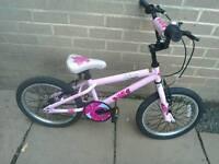 "Apollo kinx girls bike 18"" wheels"