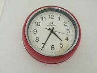 A Beautiful Red Wall Clock for Sale !
