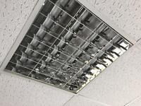 Office/commercial/industrial/warehouse ceiling lighting louvres/diffusers