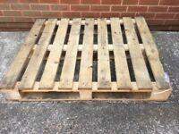 Wooden Pallet 120 cm x 100 cm x 16 cm