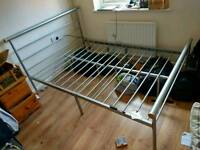 Double bed frame SOLD