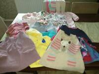 Girl's baby clothes