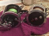 Fishing reels for boat wreck fishing