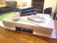 Toshiba DVD & VCR cassette player/recorder - boxed
