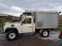 LAND ROVER DEFENDER 110 SINGLE CAB 300TDI TIPPER