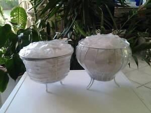 WHITE HIMALYAN LAMPS. Salamander Bay Port Stephens Area Preview