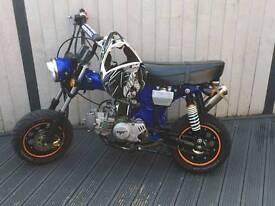 Road legal monkey bike