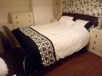 M & S Kingsize sleigh Bed