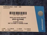 Jess Glynne Alnwick Castle Ticket