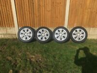 full set of Vauxhall alloys 16's 5studs