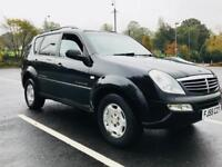 2005 Ssangyong Rexton 2.7 TD RX 270 SX SUV 5dr Diesel Manual 7 SEATER JEEP - CHEAP TAX - LEATHER
