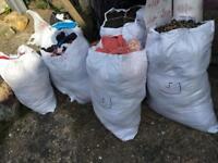 Wholesale mixed used clothes per kilo around 100kg £35