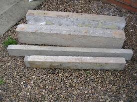 concrete lintels x 4