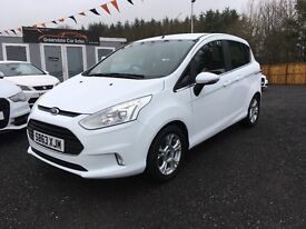 2013 Ford B-Max, 15,000 Miles, 12 MONTHS WARRANTY, Finance Available PX welcome