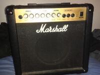 Marshall G15R CD Guitar Practice Amplifier - 15 Watts, Good working order