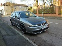 seat leon cupra modified turbo petrol 1,8 very quick car drives superb nice mods done
