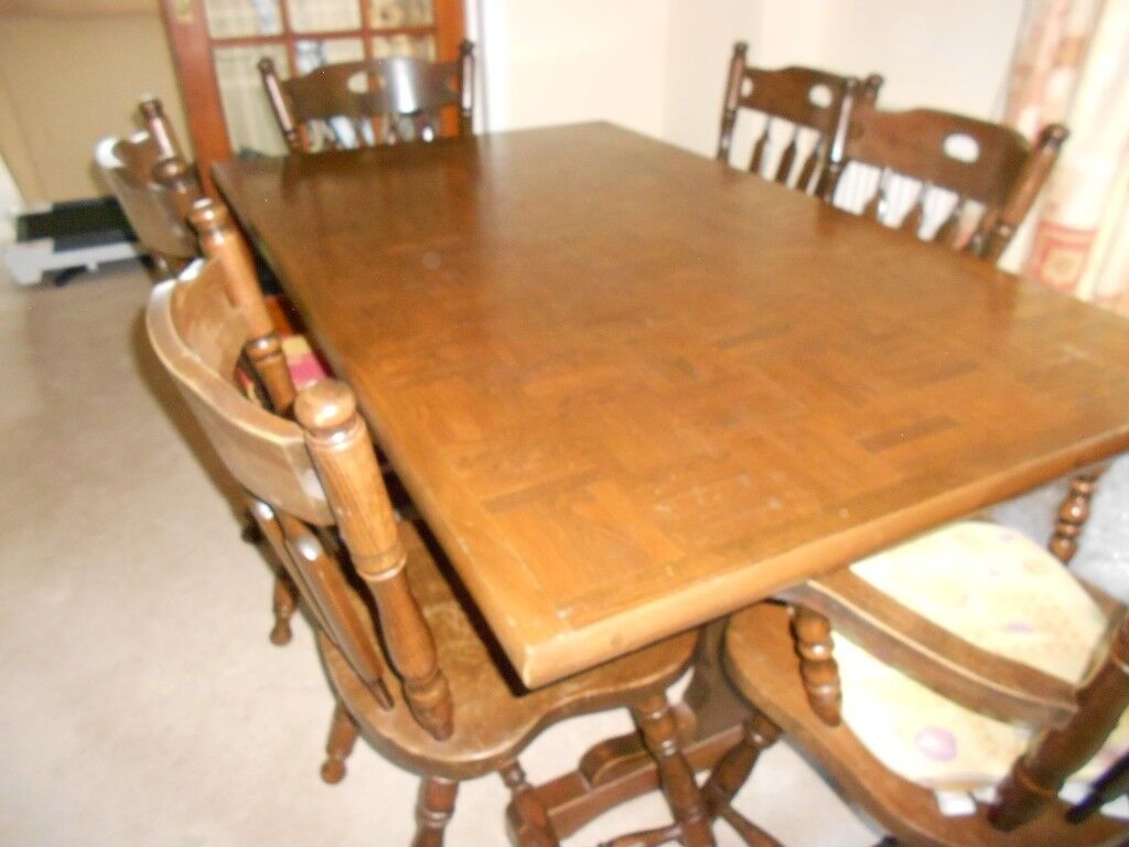 Dining Table 6 Chairs Bargain 163 15 In Folkestone Kent