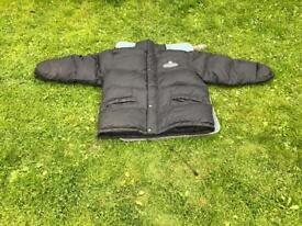 Guinness puffer coat with hood