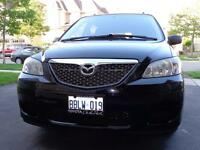 Black Mazda MPV 2006 Etested and safety and great condition