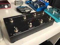 Musicom EFX MK III True Bypass Switcher Pedal