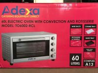 60L Electric Oven with Convection and Rotisserie