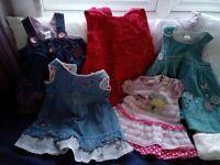 Girl's dresses 3-6 months