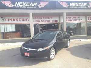 2012 Honda Civic LX AUT0 A/C CRUISE ONLY 75K