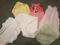 Baby Girls Bedding: Sleeping Bags, Blankets, Sheets, Towel EXCELLENT CONDITION £8