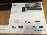 Brand new, boxed Sony HT-CT390 Soundbar