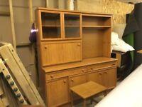 G Plan Elm Cabinet Dresser