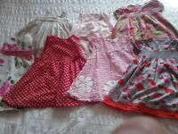 Summer girl clothes bundle 12-18 months (39 items)