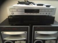 jamo speakers tuner and cd player