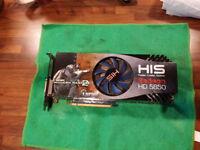 Sapphire Radeon HIS HD 5850 video card graphics adapter